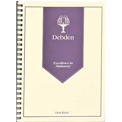 Image for DEBDEN WIRO COMPENDIUM NOTEPAD REFILL A4 PACK 2 from Office Products Depot