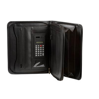 Image for SPIRAX EXECUTIVE ZIPPERED COMPENDIUM A4 BLACK from Office Products Depot