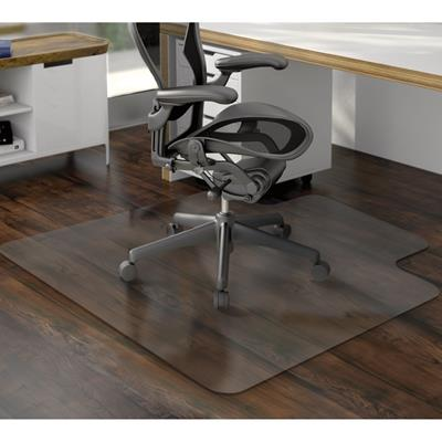 Image for MARBIG TUFFMAT CHAIRMAT POLYCARBONATE HARDFLOOR KEYHOLE 900 X 1200MM CLEAR from Office Products Depot