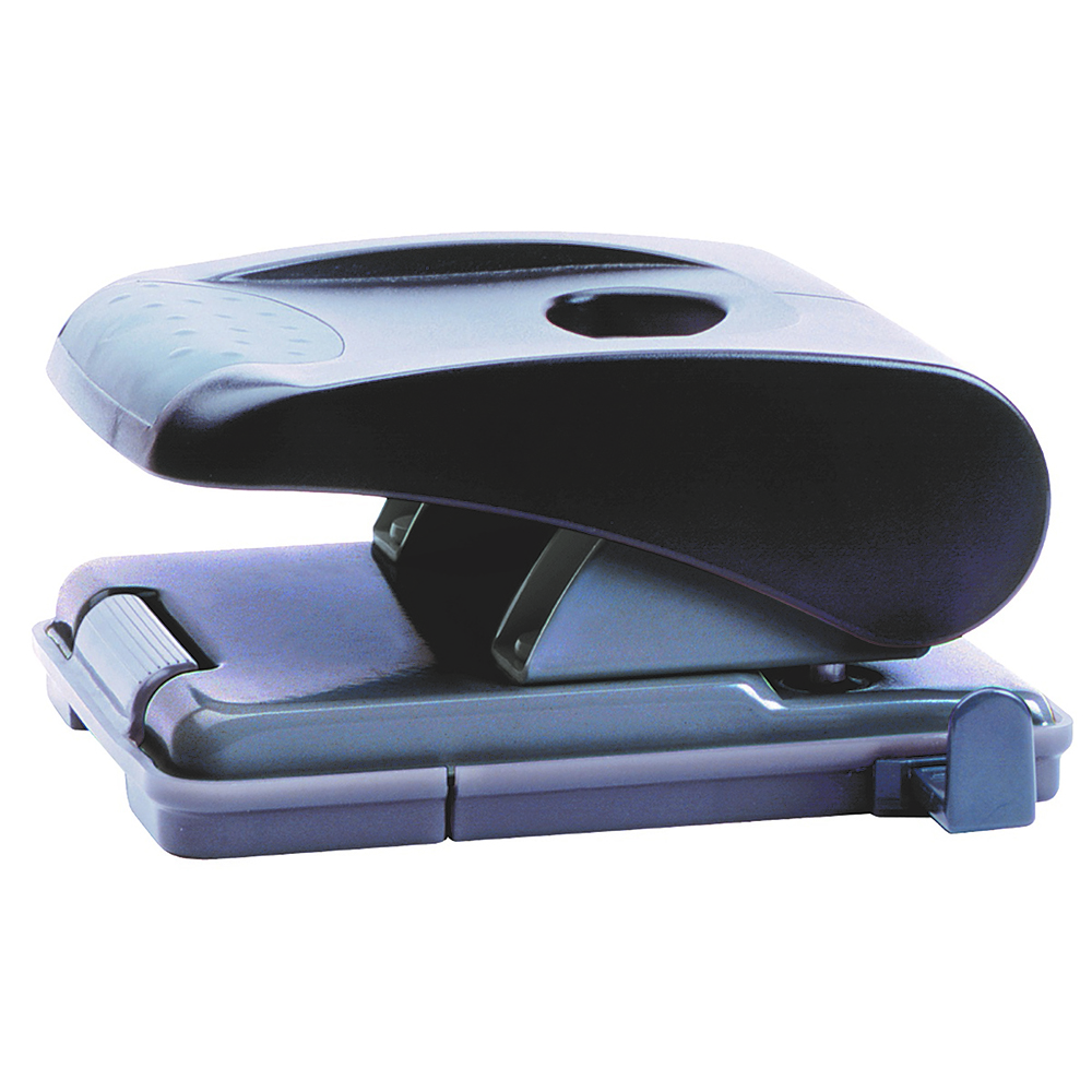 Image for MARBIG MEDIUM 2 HOLE PUNCH BLACK from Office Products Depot