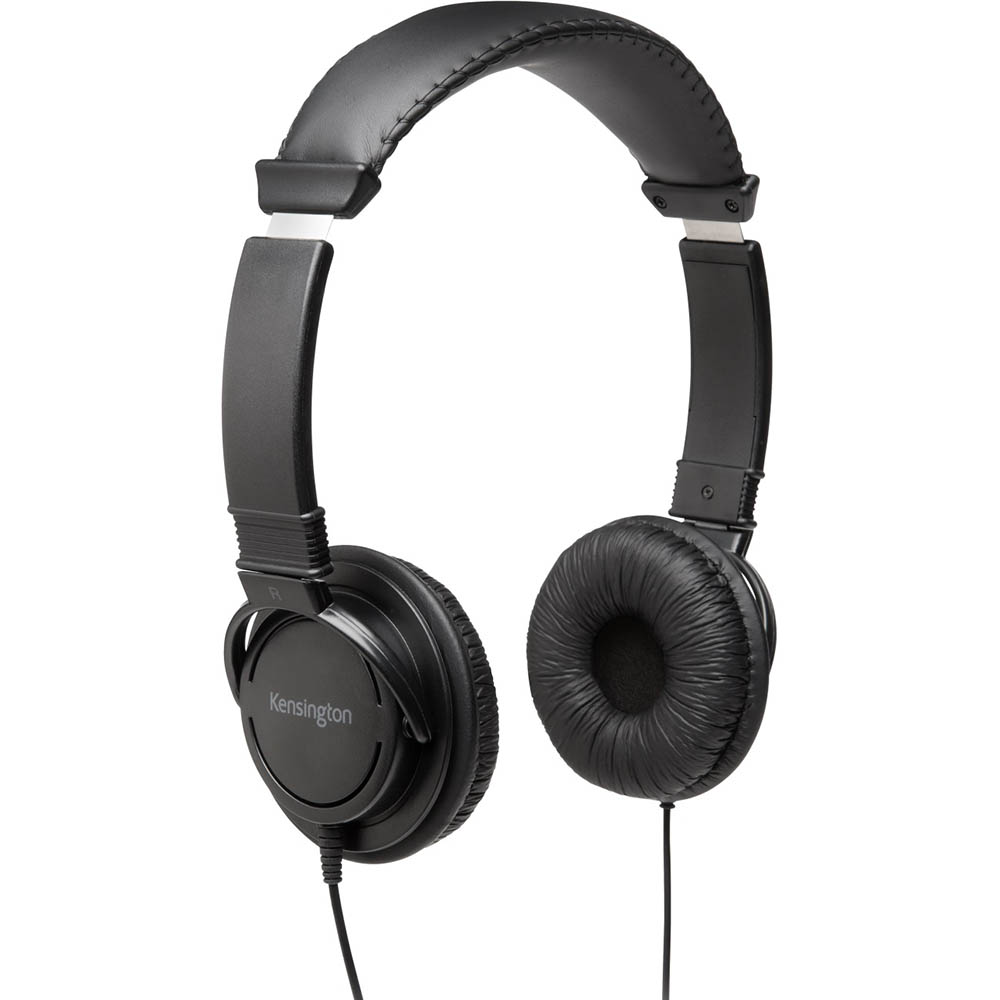 Image for KENSINGTON HI-FI HEADPHONES BLACK from Office Products Depot