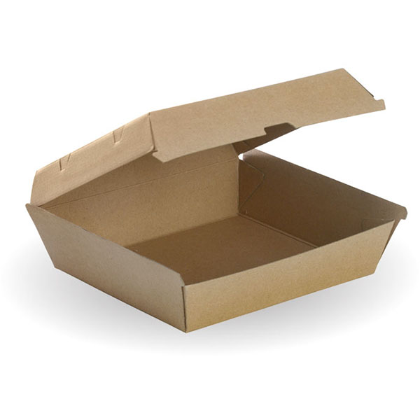 Image for BIOPAK BIOBOARD DINNER BOX BROWN PACK 50 from Office Products Depot Macarthur