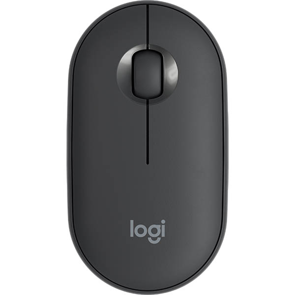 Image for LOGITECH M350 PEBBLE WIRELESS MOUSE GRAPHITE from Office Products Depot Macarthur