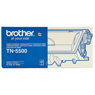 Image for BROTHER TN5500 TONER CARTRIDGE BLACK from Office Products Depot