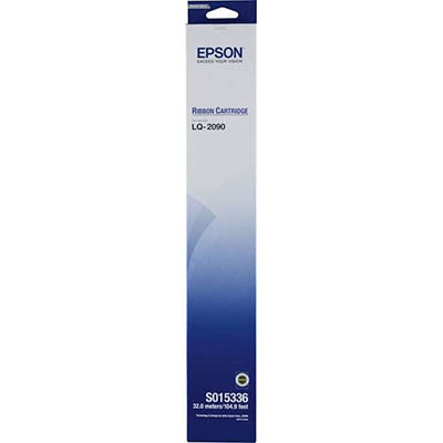 Image for EPSON C13S015337 PRINTER RIBBON BLACK from Office Products Depot