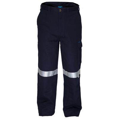Image for PRIME MOVER MW701 COTTON DRILL PANTS FLAME RETARDANT WITH REFLECTIVE TAPE from Ross Office Supplies Office Products Depot