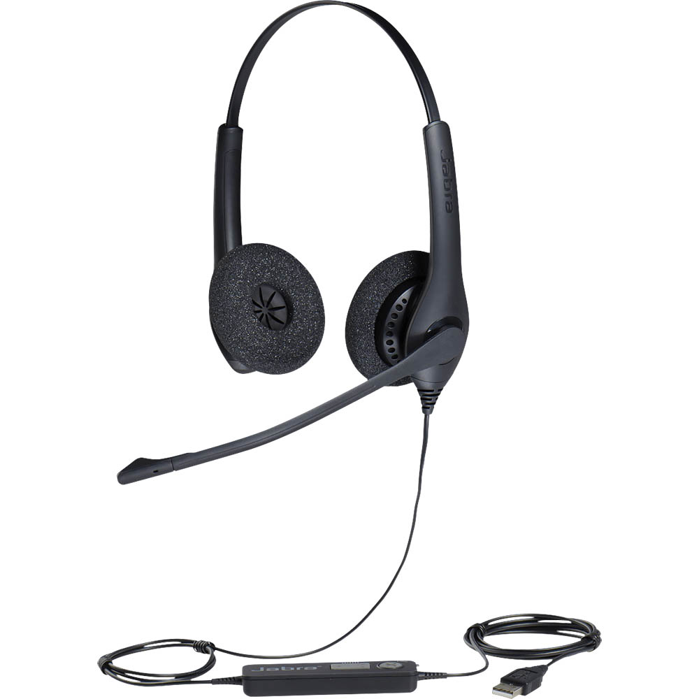 Image for JABRA BIZ 1500 DUO USB CORDED HEADSET from Office Products Depot