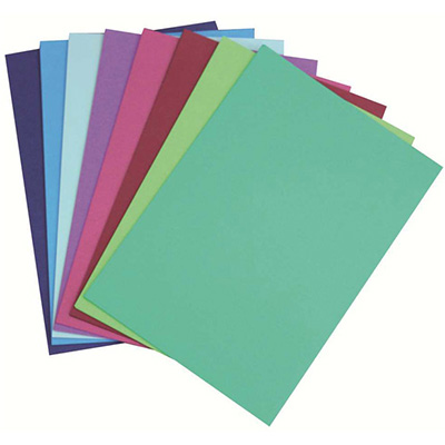 Image for COLOURFUL DAYS COLOURBOARD 200GSM A4 ASSORTED COOL PACK 50 from Office Products Depot