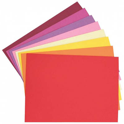 Image for COLOURFUL DAYS COLOURBOARD 200GSM A4 ASSORTED WARM PACK 50 from Office Products Depot