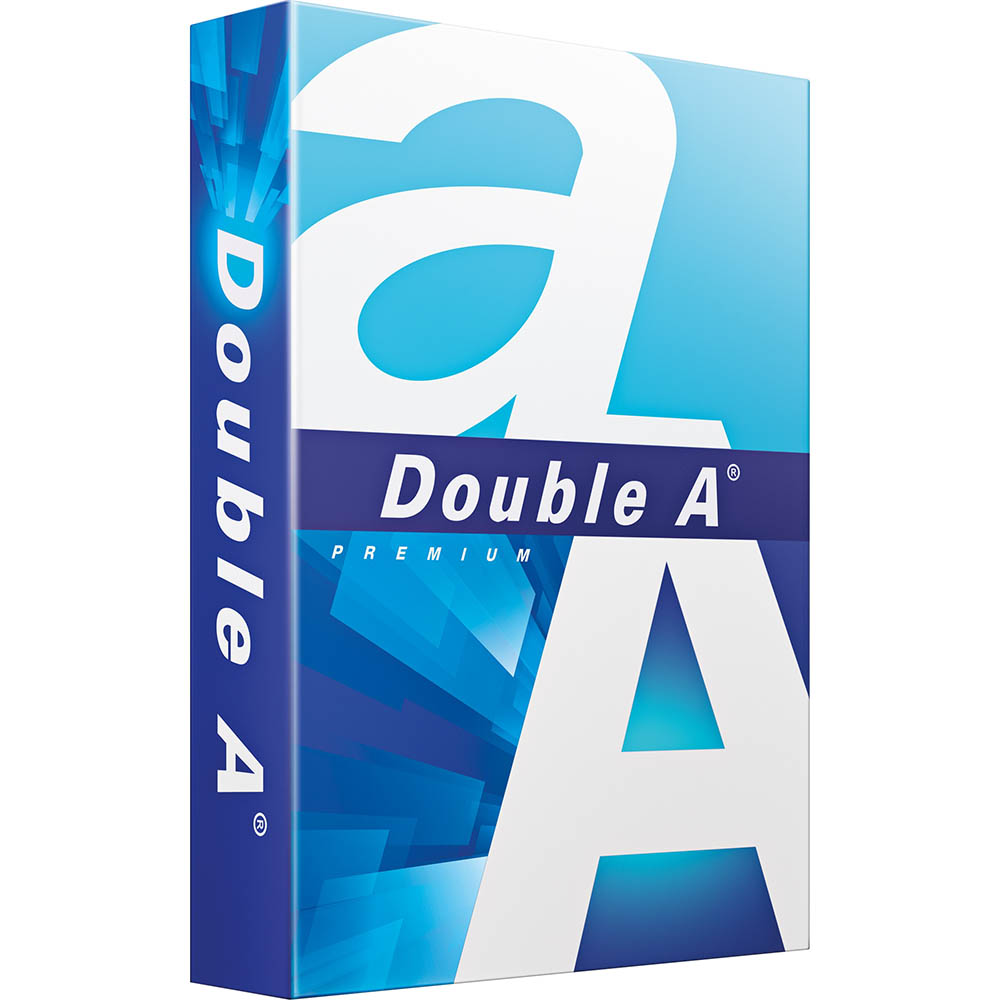 Image for DOUBLE A SMOOTHER A4 COPY PAPER 80GSM WHITE PACK 500 SHEETS from Office Products Depot