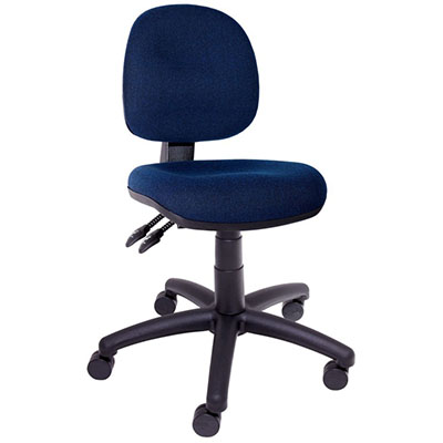 Image for INITIATIVE OPERATOR CHAIR MEDIUM BACK 3 LEVER BLUE from Office Products Depot
