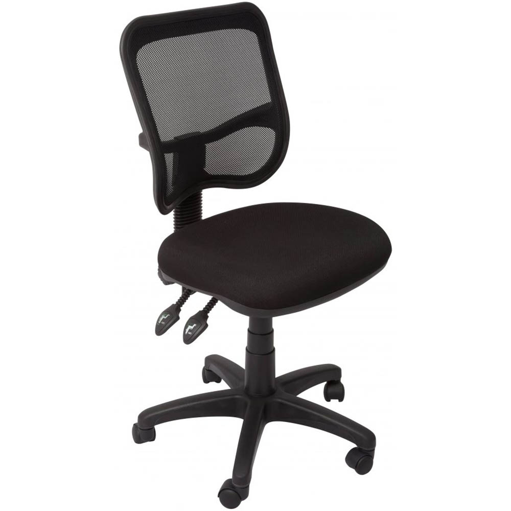 Image for INITIATIVE OPERATOR CHAIR MEDIUM MESH BACK BLACK from Office Products Depot