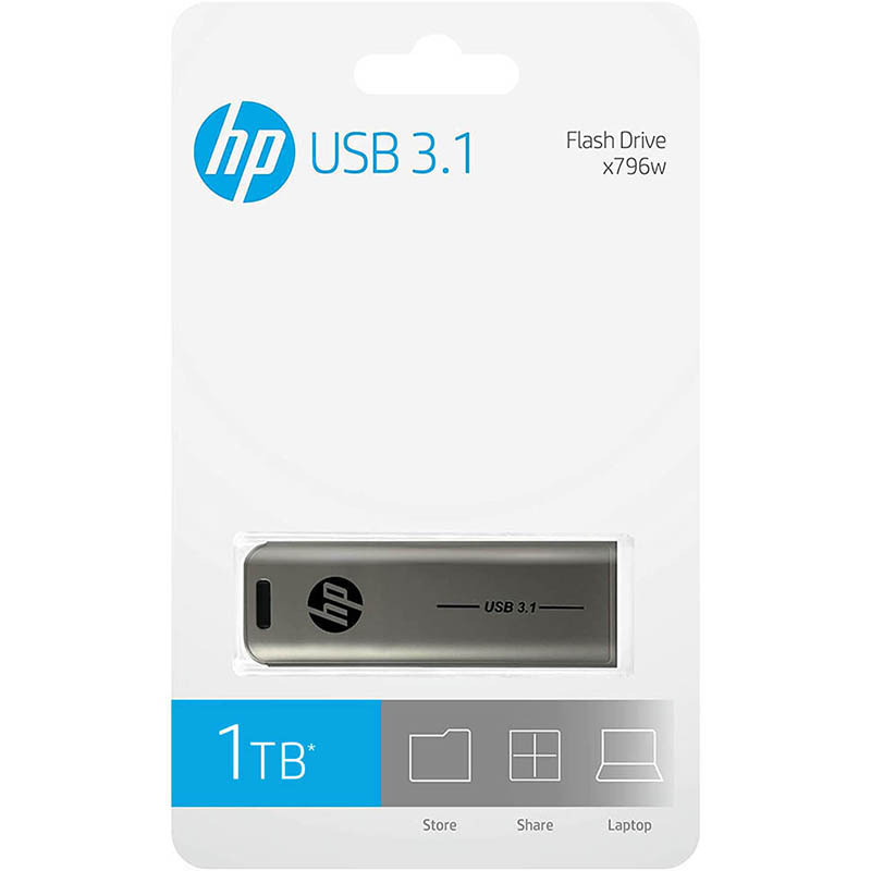 Image for HP X796W USB 3.1 FLASH DRIVE 1TB from Office Products Depot