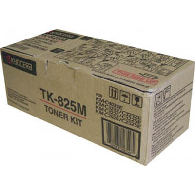 Image for KYOCERA TK825M TONER CARTRIDGE MAGENTA from Office Products Depot