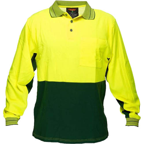 Image for PRIME MOVER HV213 HI VIS POLO SHIRT COTTON BACKED 2 TONE from Office Products Depot