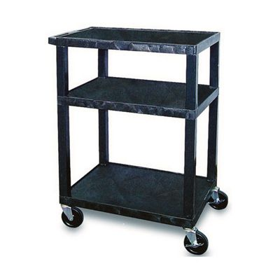 Image for TUFFY UTILITY TROLLEY 3 SHELF 860MM BLACK from Office Products Depot