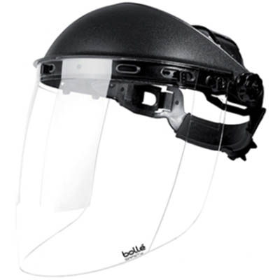 Image for BOLLE SAFETY SPHERE FACE SHIELD WITH HEAD GEAR AND VISOR from Office Products Depot Macarthur