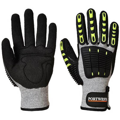 Image for PORTWEST A722 ANTI IMPACT CUT RESISTANT 5 GLOVE from Office Products Depot
