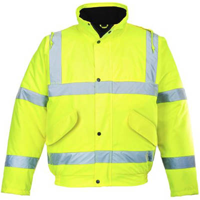 Image for PORTWEST S463 HI-VIS BOMBER JACKET from Office Products Depot