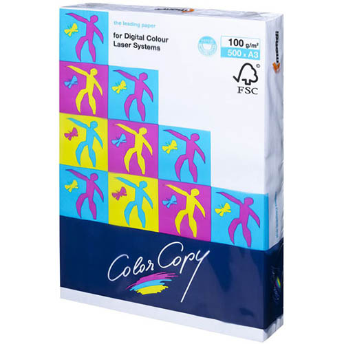 Image for MONDI COLOR COPY A3 COPY PAPER 100GSM WHITE PACK 500 SHEETS from Office Products Depot