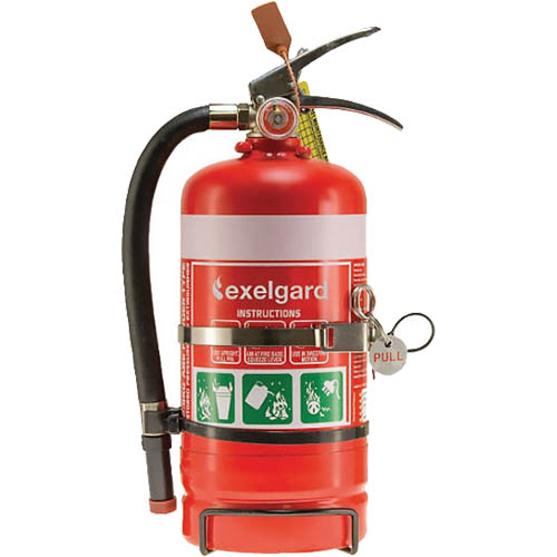 Image for BRADY FIRE EXTINGUISHER ABE DRY CHEMICAL 2KG from Ross Office Supplies Office Products Depot