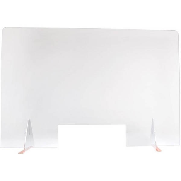 Image for TRAFALGAR ACRYLIC SNEEZE GUARD SCREEN 1200 X 800MM LARGE from MOE Office Products Depot Mackay & Whitsundays