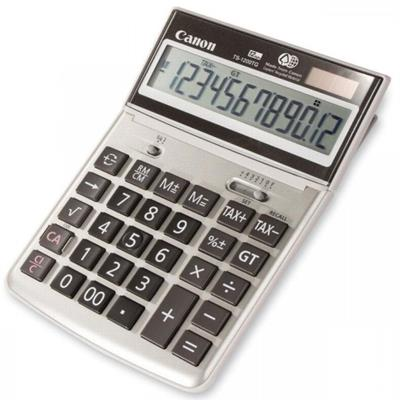 Image for CANON TS-1200TG DESKTOP CALCULATOR 12 DIGIT GREY from Office Products Depot