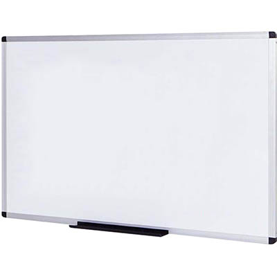Image for INITIATIVE MAGNETIC WHITEBOARD ALUMINIUM FRAME 1200 X 900MM from Ross Office Supplies Office Products Depot