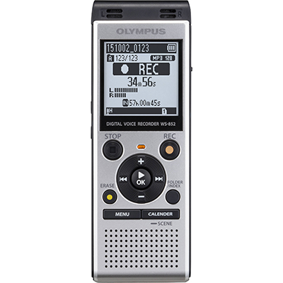 Image for OLYMPUS WS-852 DIGITAL DICTATION RECORDER WITH TRUE STEREO from Office Products Depot