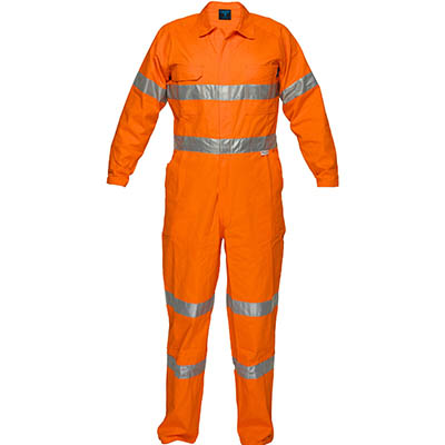 Image for PRIME MOVER MA922 LIGHTWEIGHT COVERALL WITH METAL STUD CLOSURE AND TAPE from Office Products Depot