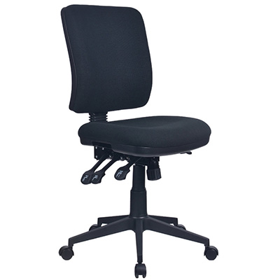 Image for INITIATIVE REJUVENATE ERGONOMIC HIGH BACK CHAIR BLACK from Office Products Depot