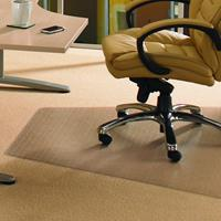 FLOORTEX WORKSTATION CARPET CHAIRMAT 1200 X 1500MM