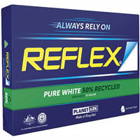 REFLEX A3 50% RECYCLED COPY PAPER 80GSM WHITE PACK 500 SHEETS
