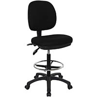 WERK RX-2 DRAFTING STOOL PU BLACK
