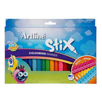 ARTLINE STIX COLOURING MARKER PACK 20