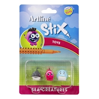 ARTLINE STIX TOYS SEA CREATURES 2 PACK 3