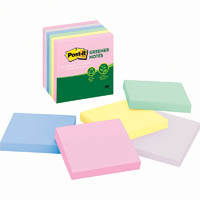 POST-IT 654-RTP RECYCLED NOTES 76 X 76MM HELSINKI PACK 16