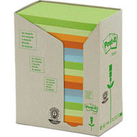 POST-IT 655-RTP RECYCLED NOTES 76 X 127MM HELSINKI PACK 16