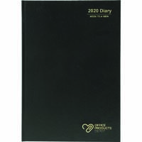 OPD OFFICEWARE 2019 DIARY WEEK TO VIEW 1 HOUR A4 BLACK