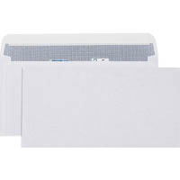 CUMBERLAND DLX LASER ENVELOPES SECRETIVE PLAIN WALLET 90GSM STRIP SEAL 20 X 235MM WHITE BOX 500
