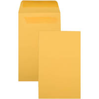 CUMBERLAND ENVELOPES P6 SEED POCKET SELF SEAL 135 X 80MM GOLD BOX 1000