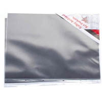 COLBY ART PRESENTATION PORTFOLIO SLEEVE WITH INSERT PAPER PP A2 615 X 450MM CLEAR