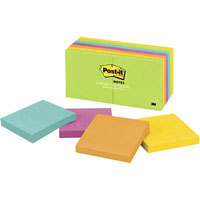 POST-IT 654-14AU NOTES 76 X 76MM ULTRA VALUE PACK 12 WITH 2 BONUS PADS