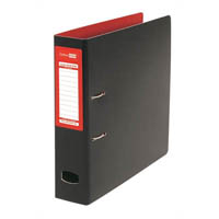 COLOURHIDE MIGHTY LEVER ARCH FILE A4 RED/BLACK