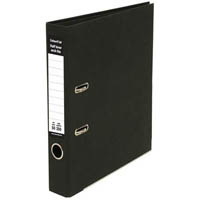 COLOURHIDE HALF LEVER ARCH FILE A4 BLACK