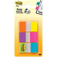 POST-IT 680-EG-ALT ALTERNATING COLOUR FLAGS 25MM ASSORTED PACK 60