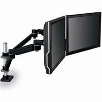 3M MA260MB MONITOR ARM DUAL DESK MOUNTING