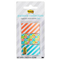 POST-IT 682-GEOS PATTERN FLAGS GEOS COLLECTION ASSORTED PACK 60