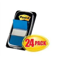 POST-IT 680-2-24CP FLAGS BLUE CABINET PACK 24