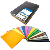 INITIATIVE COVER PAPER 125GSM A3 15 COLOUR ASSORTED PACK 500